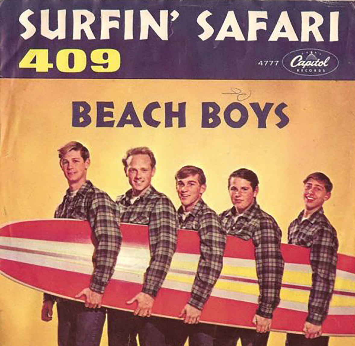 Thursday Cartune 409 By The Beach Boys Rides Amp Drives