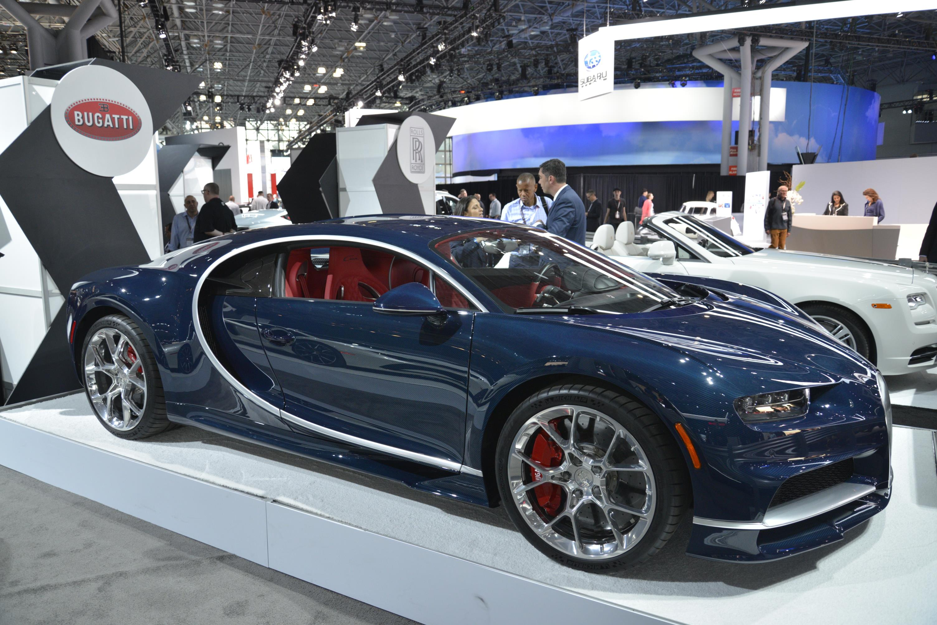 Highlights From The 2017 New York International Auto Show