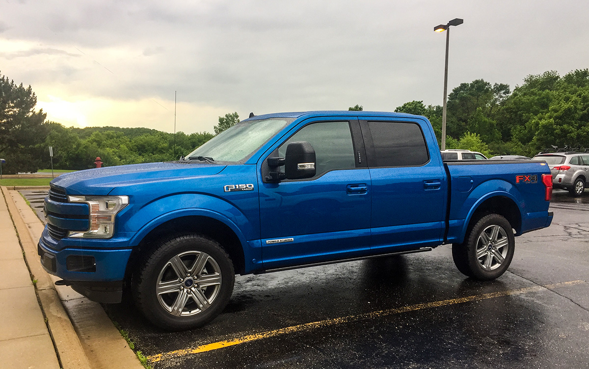 Driven Ford F 150 Fx4 Diesel Going The Distance For A Price Rides Drives